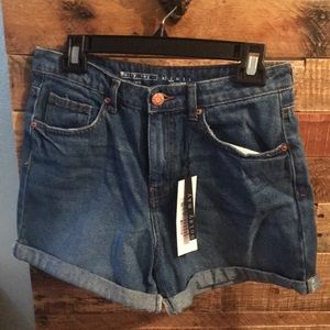 Pants - Noisy May cuffed denim juniors jean shorts